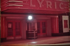 Lyric Theater Monticello IL  by Kevin Lee Marshall c1976 (RLWisegarver) Tags: piatt county history monticello illinois usa il