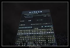 2018.01.02 La Défense by night 31 (garyroustan) Tags: paris france french iledefrance ile island building architecture ville ciudad city nuit night light color noche noel christmas navidad fetes fete feliz joyeux defense
