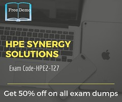 Exam HPE2-T27- HPE Synergy Solutions (kasenasaun12319) Tags: it material test stuff