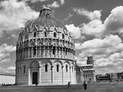Pisa Basillica Tuscony Italy (saxonfenken) Tags: cathedral blackandwhite pisa tuscany italy 47italy 47 basillica perpetual 15challengeswinner friendlychallenges