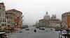 Foggy Venice (louise peters) Tags: venice venetië fog foggy mist mistig water boats transport buildings gebouwen architecture architectuur gondel gondola italy italië basilicadisantamariadellasalute canalgrande