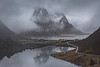Land of the Vikings (Andrew G Robertson) Tags: lofoten islands norway hamnoy reine mountain mist reflection norge