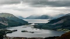 Loch Leven (GeraldGrote) Tags: garbhbeinn ballachulish mountain scotland rain clouds glencoe unitedkingdom gb