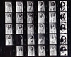 Deneen Veiled Bride Costume Lingerie Philadelphia Studio B&W Ilford HP5 Plus 35mm Contact Sheet Proof Print 1995 IMG_0017 (photographer695) Tags: deneen veiled bride costume lingerie philadelphia studio bw 1995 ilford hp5 plus 35mm contact sheet proof print