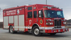 Heavy Rescue 17 (Central Ohio Emergency Response) Tags: columbus ohio division fire heavy rescue squad truck sutphen svi
