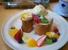 French Toast with Fruit (Long Sleeper) Tags: sweets dessert food cafe cafefredy frenchtoast fruit fruits nut macadamianut honey icecream whippedcream tachikawa tokyo japan dmcgx1