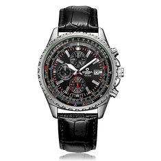 CASIMA 8882 Men Watch Waterproof 100M Luminous Stainless Steel Case Leather Band Classic Wrist Watch (1145283) #Banggood (SuperDeals.BG) Tags: superdeals banggood jewelry watch casima 8882 men waterproof 100m luminous stainless steel case leather band classic wrist 1145283