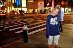 Once a City Girl Always a City Girl! (Steve Lundqvist) Tags: new york usa states united america manhattan stati uniti travel trip viaggio girl ragazza model urban city portrait ny nyc persone ritratto fashion moda mood attractive beauty fujifilm x100s streetphotography sporty sportwear flash night light