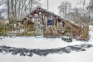 Hölzhäuschen - Wooden Cottage