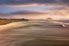 A Seascape in Gokarna, India (Photography By Mallik) Tags: gokarna india beach seascape water sky sand morning sunrise clouds