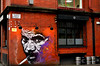 Smoking zone. (alex.vangroningen) Tags: manchestergb smoking drawing art window beer barrels outdoors