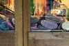 Paris, Montmartre - Marché Saint Pierre (boris maillard) Tags: paris montmartre marchésaintpierre street streetphotography store fabric tissue reflection glass window wood door