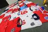 England Football Shirt Collection (iptings) Tags: england moore charlton hurst keegan hoddle robson lineker mcmanaman owen beckham sherear gerrard terry rooney kane umbro nike