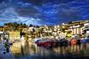 _ZA03105 (zalo_astur) Tags: puerto barcos filtro circular polarizador mar caña pueblo marinero asturias cielo nubes color pescador reflejo