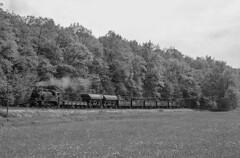 0606 DB 75.1118 Michelau an der Saale 24/04/2009 (stefano.trionfini) Tags: train treni bahn zug steam dampf db br75 rhön baviera bayern germania