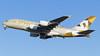 A6-APF Etihad Airways Airbus A380-861 (v1images Aviation Media) Tags: v1images aviation media group jason nicholls lhr egll london heathrow international airport uk united kingdom england eu europe takeoff take off departure blue sky 27l esso