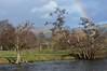 Rainbow over The Vale of Clwyd (MeirionWyn) Tags: rainbow vale clwyd river