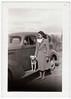 Vintage Snapshot : Woman•Dog•Car (CHAIN12) Tags: tijuana 48 photos photo lot batch scanned mexico mexican origin snapshot unidentified irnclsttijmexlotwomandogcar
