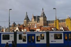 Amsterdam Central Station (jehazet) Tags: amsterdam stadsgezicht cityscape tram trainstation publictransport jehazet