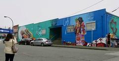 150 East 3rd Avenue (Mariko Ishikawa) Tags: canada britishcolumbia vancouver mountpleasant mural art publicart streetart