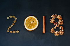 Konzept fürs Neujahr: 2018 geschrieben mit verschiedenen Zutaten (marcoverch) Tags: 2018 dry close winter numbers retro grain background best newyearseve happynewyear food cook seasoning flavor goals happy eating aromatic yummy year wooden closeup cooking culinary greeting vintage aroma christmas wishes new up written wood cinnamon newyear ingredient natural cuisine orange silvester holiday seed ziele spices rustic kitchen fire ice walking stars abandoned hill streetart bnw fashion railroad konzept neujahr geschrieben verschiedene zutaten