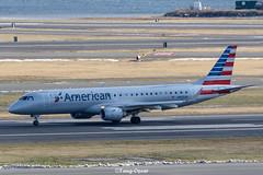 N955UW @BOS (thokaty) Tags: n955uw americanairlines usairways embraer e190 erj190 e190igw eis2008 bostonloganairport bos kbos
