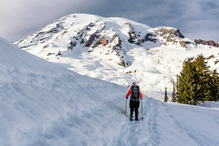 Paradise (garshna) Tags: snowshoeing mtrainier mtrainiernationalpark paradise landscape