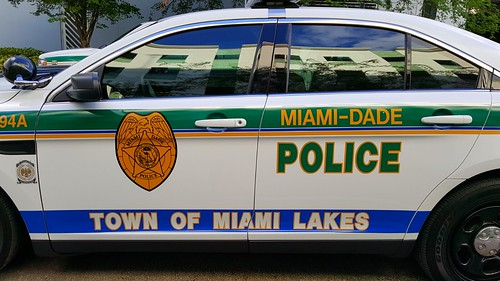 Miami-Dade Police Department (MDPD) Ford Police Interceptor
