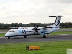 Flybe DHC-8-Q402 G-ECOC taxiing at MAN/EGCC (AviationEagle32) Tags: manchester man manchesterairport manchesteravp manchesterairportatc manchesterairportt1 manchesterairportt2 manchesterairportt3 manchesterairportviewingpark egcc cheshire unitedkingdom uk ringway ringwayairport runway runwayvisitorpark airport aircraft airplanes apron aviation aeroplanes avp aviationphotography aviationlovers avgeek aviationgeek aeroplane airplane planespotting planes plane flying flickraviation flight vehicle tarmac flybe bombardier bombardieraerospace bombardierdash8 bombardierdh8q4 bombardierdhc8q400 dhc8q400 dash8 dh8q4 gecoc turboprop propellers