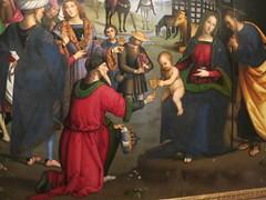 Christmas Colours - Adoration of the Magi (Pushapoze (nmp)) Tags: italy italia perugia umbria galerianazionaledellumbria adorationofthemagi perugino