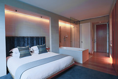 Executive King Room (Malmaison Hotels & Brasseries) Tags: funky hotel leeds malmaison neon tourism travel