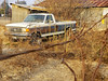 F 250 (akahawkeyefan) Tags: ford pickup f250 davemeyer barbedwire weeds kingsburg 4x4 302 v8 abandoned forgotten rusty rusting