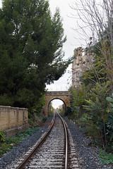 Ponte sul binario (fr@nco ... 'ntraficatu friscu! (=indaffarato)) Tags: italia italy sicilia sicily castelvetrano