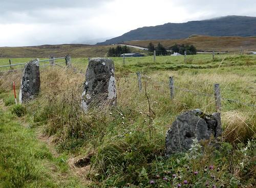 Borve stone row