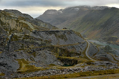 Way to the Lost World (PentlandPirate of the North) Tags: harriet dinorwic snowdonia dinorwig northwales snowdon gwynedd slate quarry