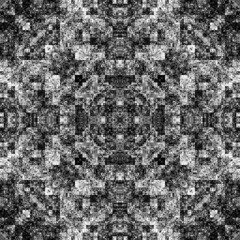 1184040302 (michaelpeditto) Tags: art symmetry carpet tile design geometry computer generated black white pattern