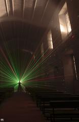 Light Painting with Laser (albertoleiras) Tags: canon1740f4l canon6d lightpainting contraluz laser monasteriosantacatalina