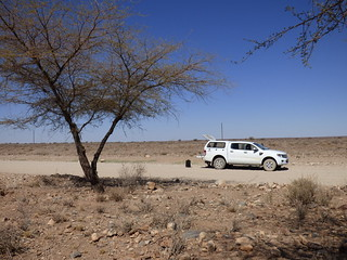 Namibia's Beauty:  picnic stop in Damaraland