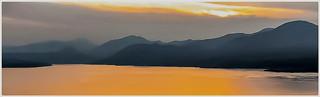 Sonnenuntergang über dem Gardasee - Il tramonto sul Lago di Garda
