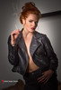 Alicia (TwistedImageStudios) Tags: model fashionmodel modeling modellife photoshoot fashionshoot fashionphotographer rhodeisland providence smoking cigarette leatherjacket redhead portrait redlipstick