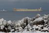 def_ash122417arrL_rb (rburdick27) Tags: tug barge defiance ashtabula marquette snow ice lakeshore lakesuperior scenicmichigan