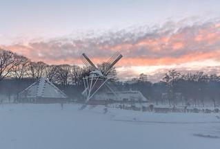 Winter in #openluchtmuseum @Openluchtmuseum Arnhem