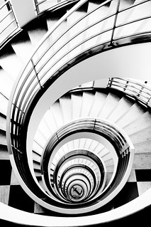 Spiral staircase in Berlin