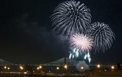 Happy New Year (shishirmishra1) Tags: celebration new year eve holidays california usa sanfrancisco bay bridge fireworks night light long exposure