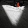 Triangular (arbyreed) Tags: arbyreed light shadow sandy saltlakecounty triangle format trashcan dustbin bin