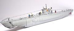 U-Boat type VIIc 1:50 Scale LEGO Model (LuisPG2015) Tags: