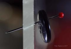 #Stick it on the wall #Macromondays (Yberle.Foto) Tags: stick macromondays button pin