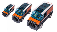 Orange VAN (KEEP_ON_BRICKING) Tags: lego city legocity car moc delivery van minivan sunroof
