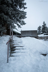 Snowy stairs (Cloudtail the Snow Leopard) Tags: treppe hornisgrinde schnee snow winter mountain schwarzwald black forest