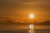 Stanlow from Eastham Ferry. (Ade McCabe) Tags: sunrise sun stanlow eastham cheshire wirral easthamferry refinery sigma70200 nikond750